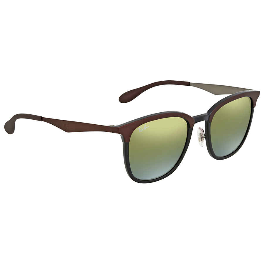 ada89f2cf06 Ray Ban Green Gradient Mirror Square Sunglasses RB4278 6285A7 51 ...