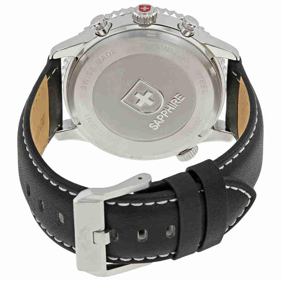 Swiss-Military-Thunderbolt-Men-039-s-Chronograph-Watch-Choose-color thumbnail 13