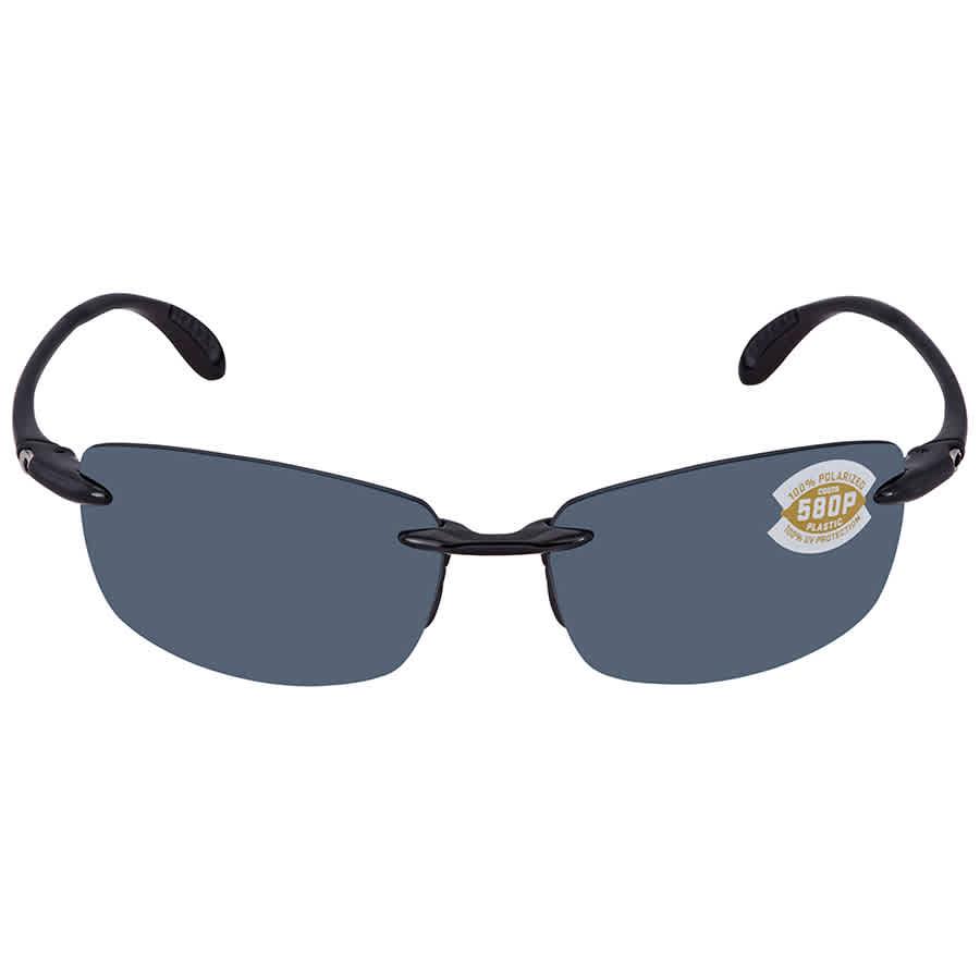5b3e00762f1 Costa Del Mar Ballast Grey 580P Polarized Sunglasses BA 11 OGP BA 11 ...