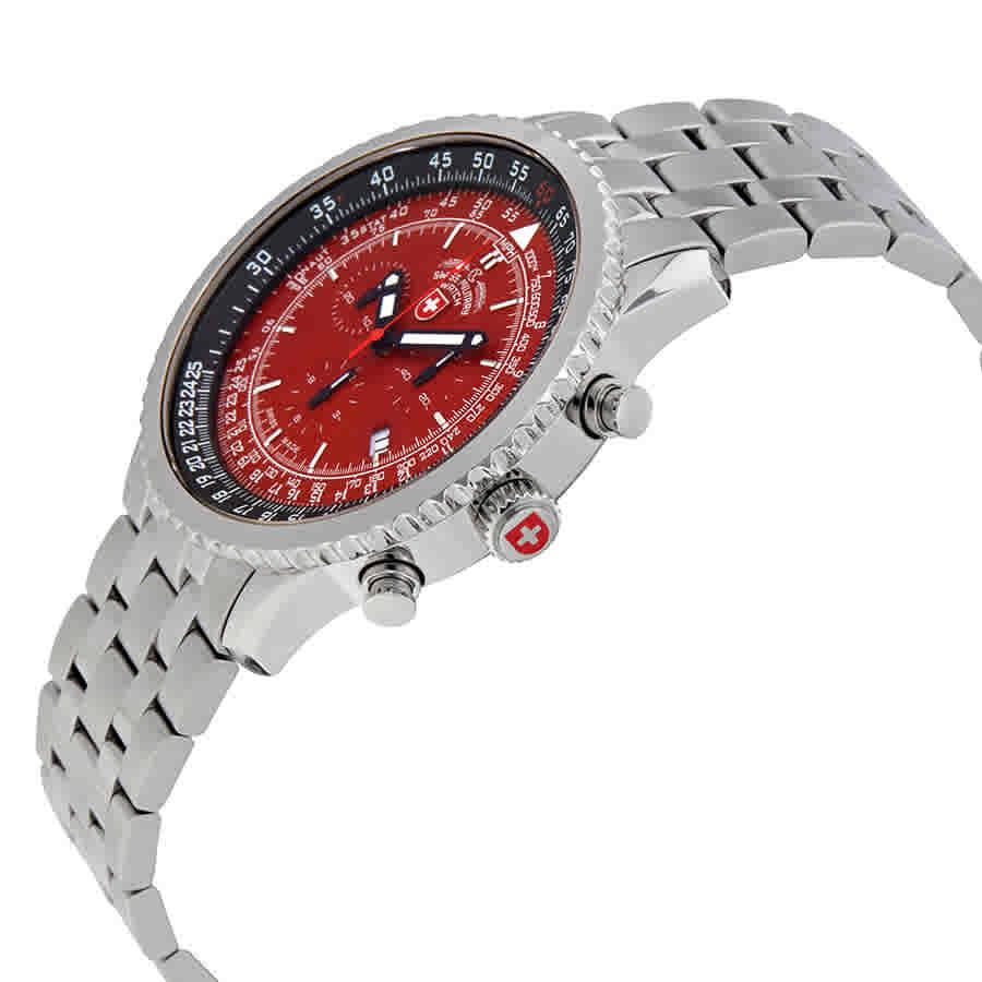 Swiss-Military-Thunderbolt-Men-039-s-Chronograph-Watch-Choose-color thumbnail 48
