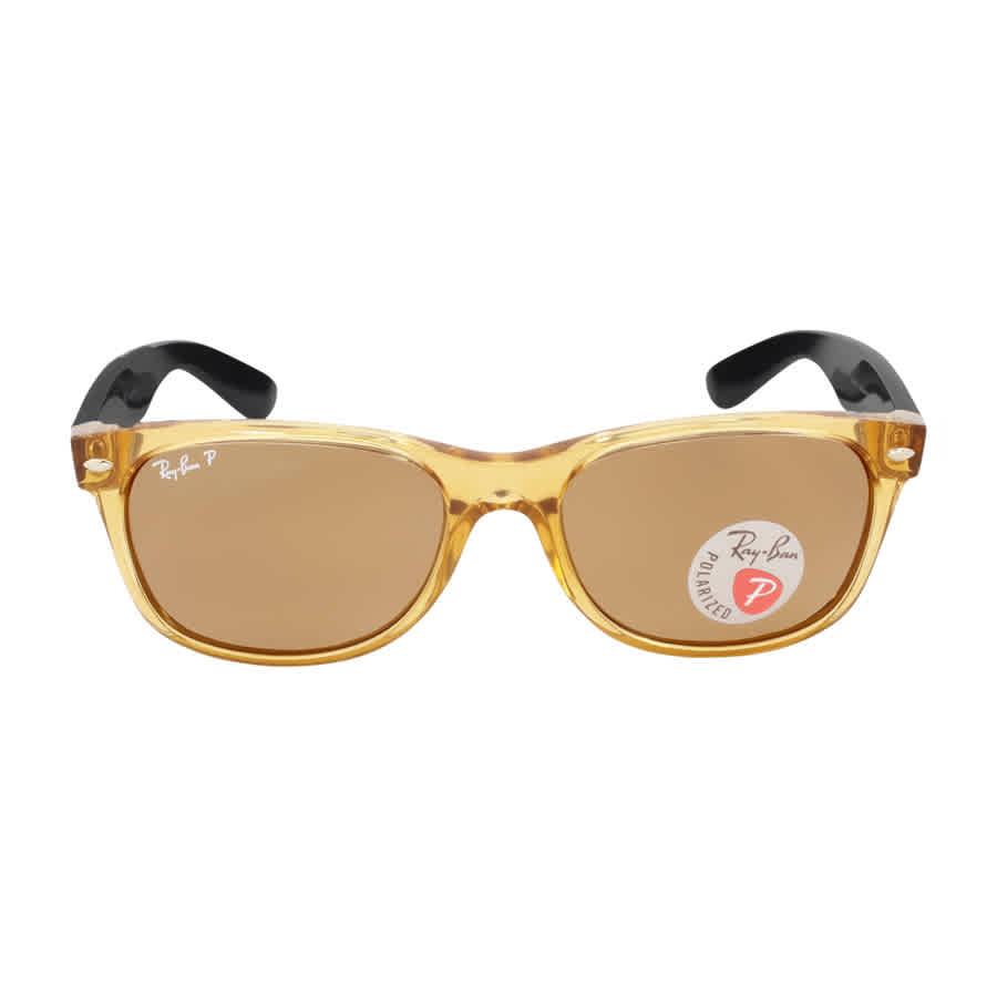 Ray Ban New W-r Polarized Brown Sunglasses RB2132 945 57 55-18   eBay ad287675fd