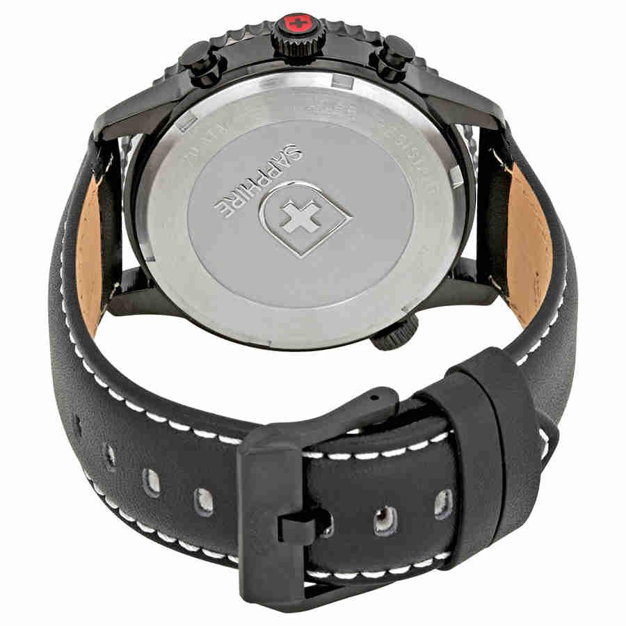 Swiss-Military-Thunderbolt-Men-039-s-Chronograph-Watch-Choose-color thumbnail 52