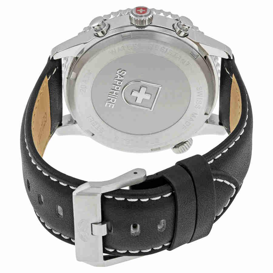 Swiss-Military-Thunderbolt-Men-039-s-Chronograph-Watch-Choose-color thumbnail 64