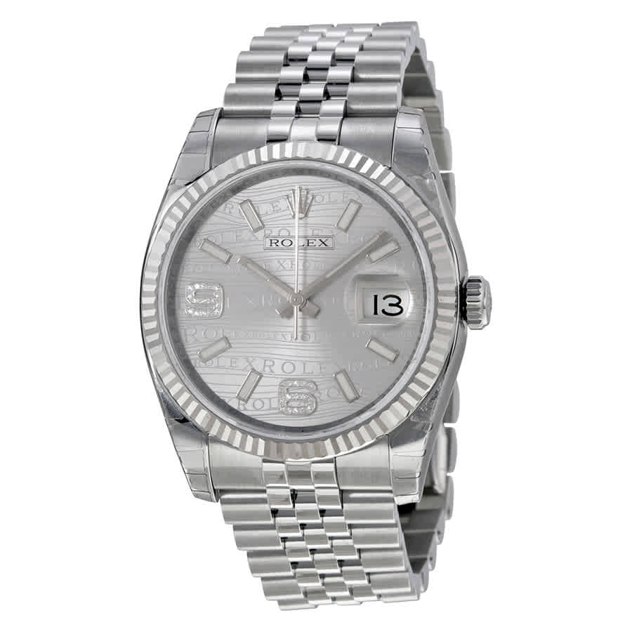 20f24f644d97 Rolex Oyster Perpetual 36 mm Silver Dial Stainless Steel Jubilee Bracelet