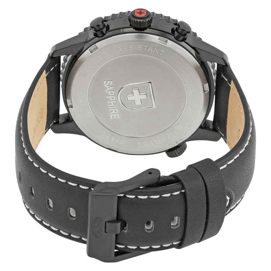 Swiss-Military-Thunderbolt-Men-039-s-Chronograph-Watch-Choose-color thumbnail 4