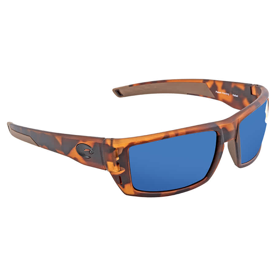 4cfeff6c73 Costa Del Mar Rafael Polarized Blue Mirror Sunglasses RFL 66 OBMP ...