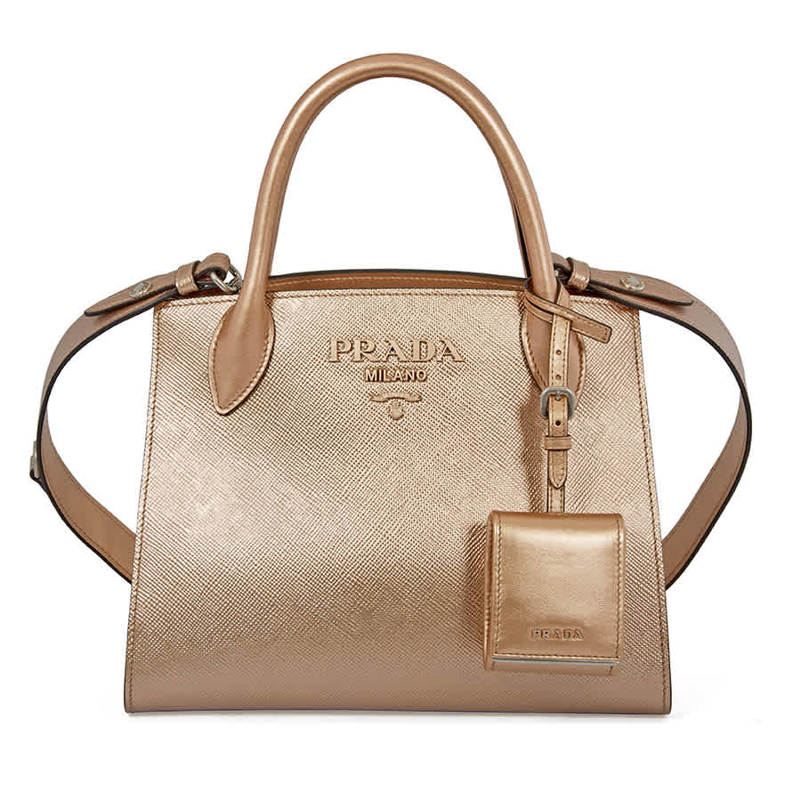 Prada Saffiano Leather Shoulder Bag- Monochromatic Quartz ... cd3e3b4263ad0