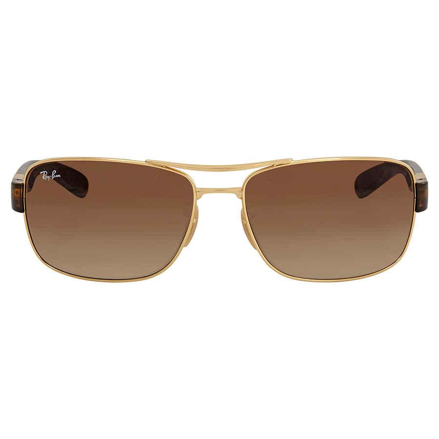 0896a47e11 Ray Ban Arista Brown Gradient Men s Sunglasses RB3522 001 13 64 ...