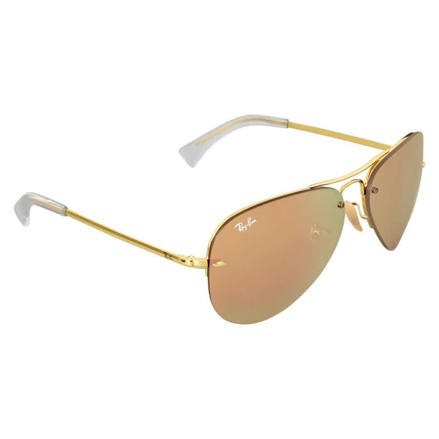 63e210aeb12 Ray-Ban Highstreet Copper Mirror Sunglasses RB3449 001 2Y 59 RB3449 ...