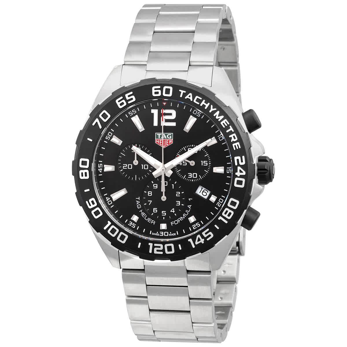 cdb8d49c782 Tag Heuer Formula 1 Chronograph Black Dial Men s Watch CAZ1010.BA0842