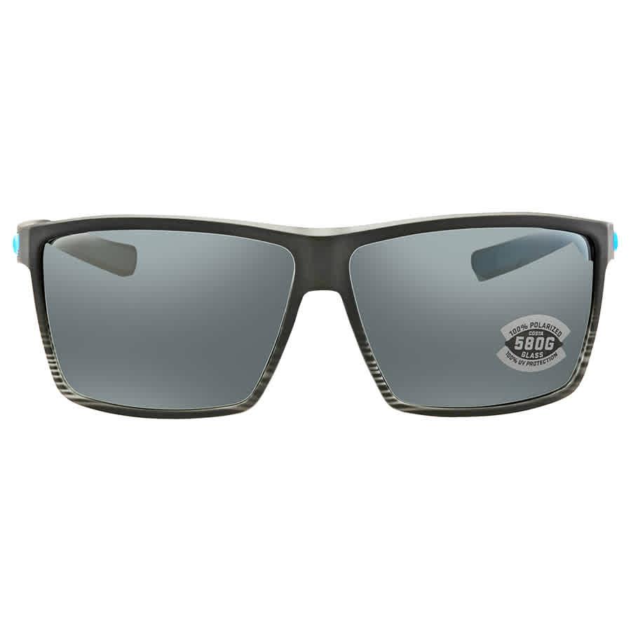 7617f85bd3c Costa Del Mar Rincon Polarized Glass Gray Silver Mirror X-Large Fit  Sunglasses