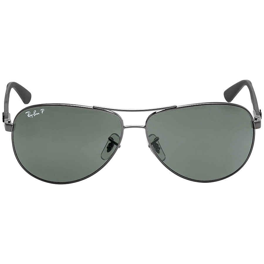 Ray Ban Aviator Polarized Green Classic G-15 Sunglasses RB8313 004 N5 61-13 fc96a5a7d9