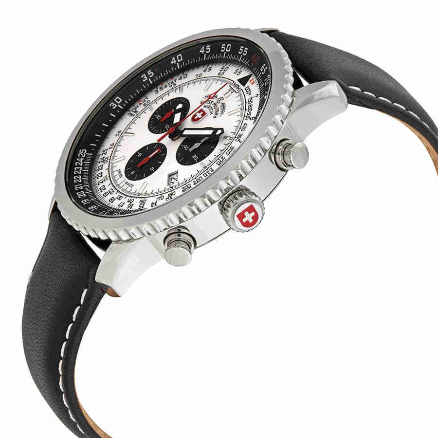 Swiss-Military-Thunderbolt-Men-039-s-Chronograph-Watch-Choose-color thumbnail 60
