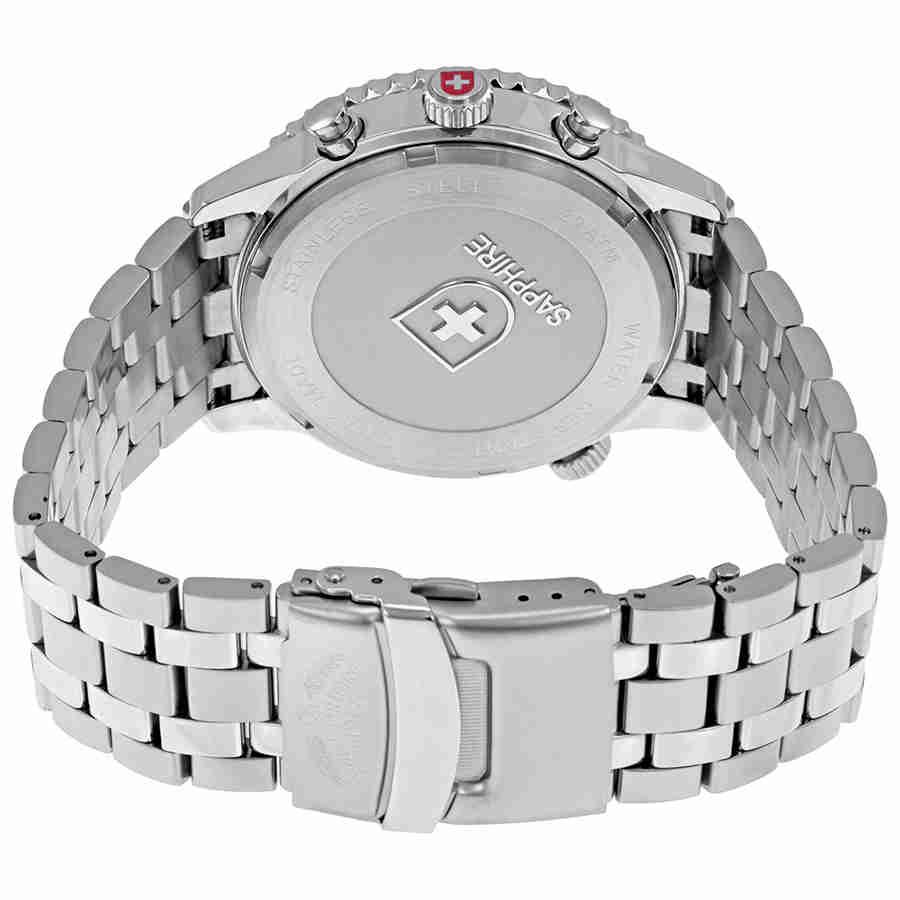 Swiss-Military-Thunderbolt-Men-039-s-Chronograph-Watch-Choose-color thumbnail 37