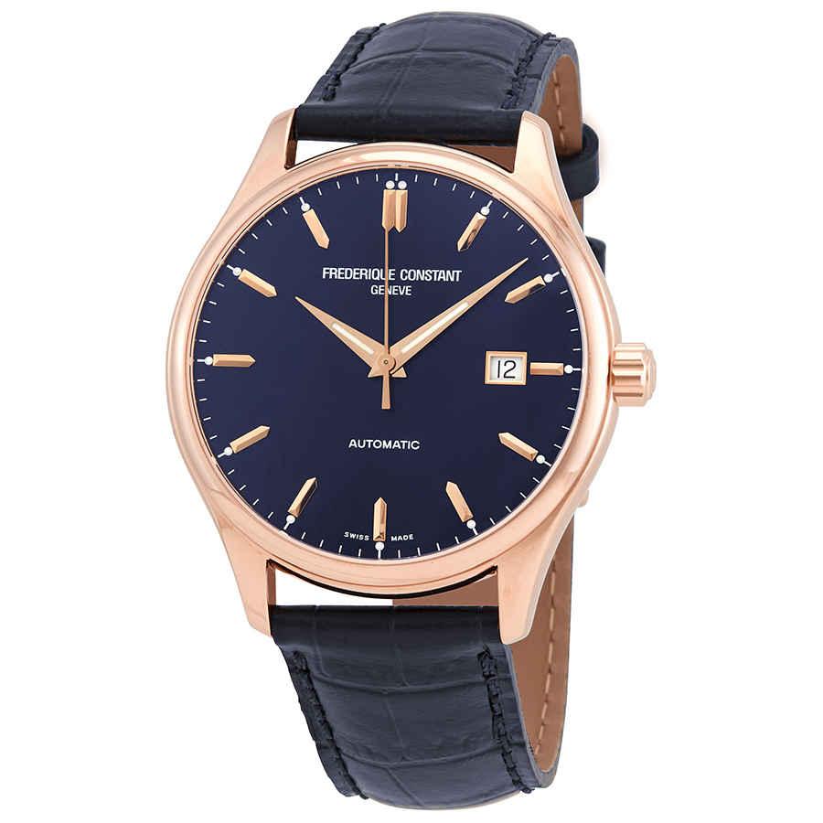 Frederique Constant Classics Automatic Blue Dial Men's Watch FC-303N5B4    eBay