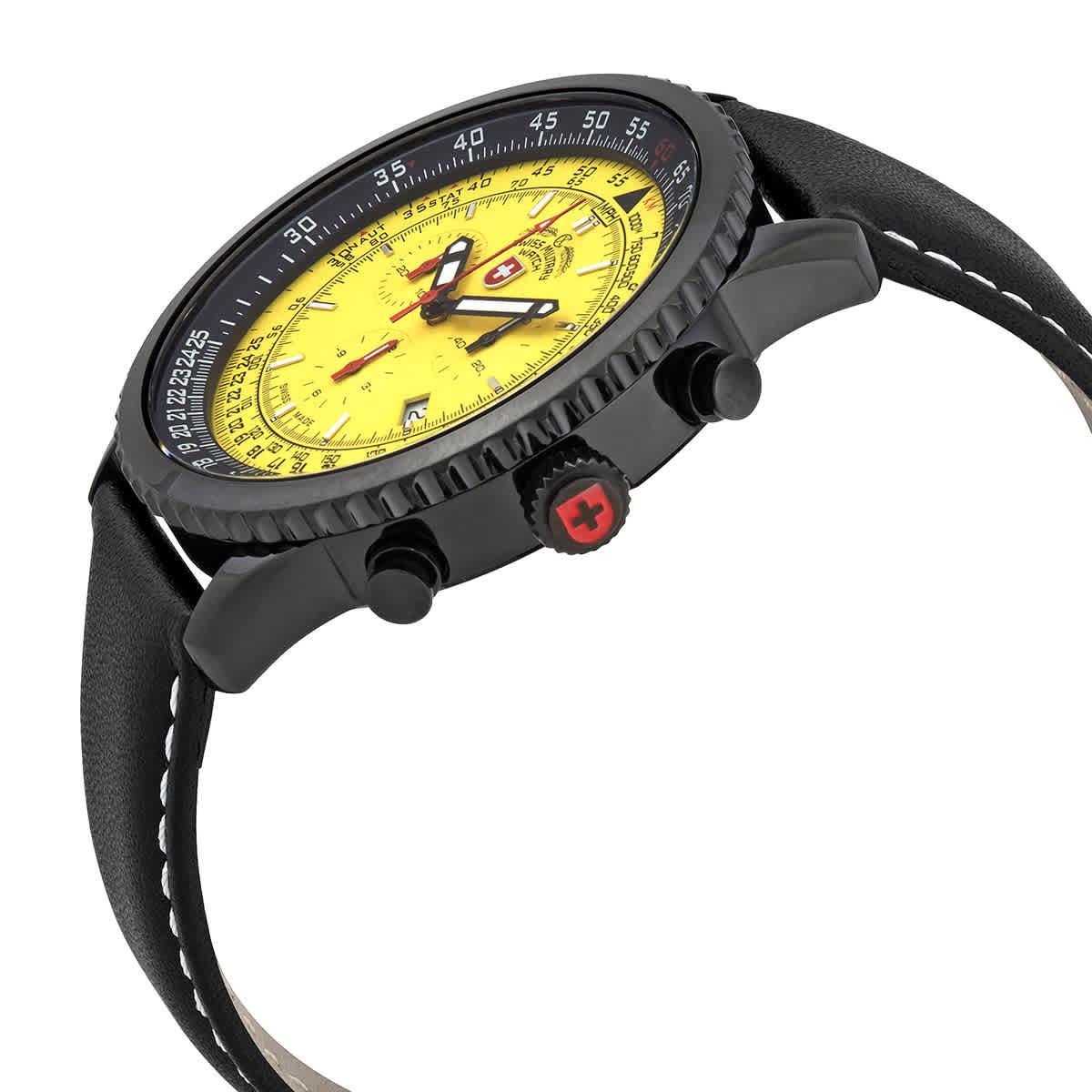 Swiss-Military-Thunderbolt-Men-039-s-Chronograph-Watch-Choose-color thumbnail 66