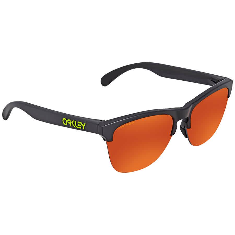 4560af1bd5 Oakley Frogskins Lite Prizm Ruby Square Sunglasses OO9374 937405 63 ...