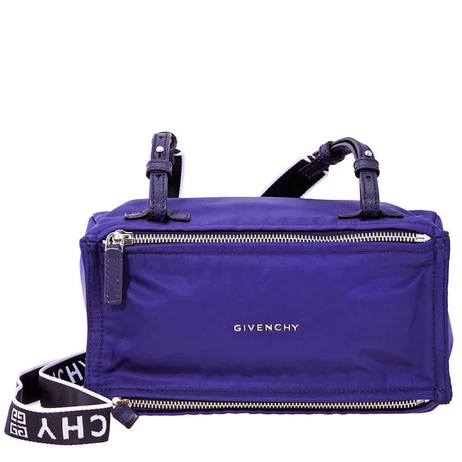 7c9ffaf84b Givenchy 4G Mini Pandora Bag in Nylon- Blue BB500QB06B-401 | eBay