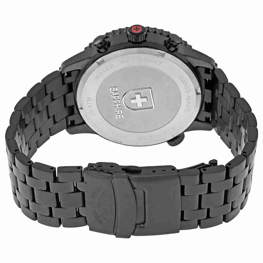 Swiss-Military-Thunderbolt-Men-039-s-Chronograph-Watch-Choose-color thumbnail 22