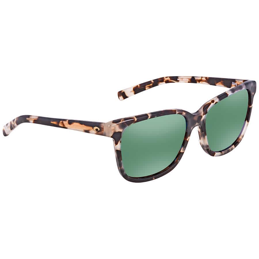 e09857f6cc Costa Del Mar May Polarized Green Mirror Medium Fit Sunglasses MAY ...