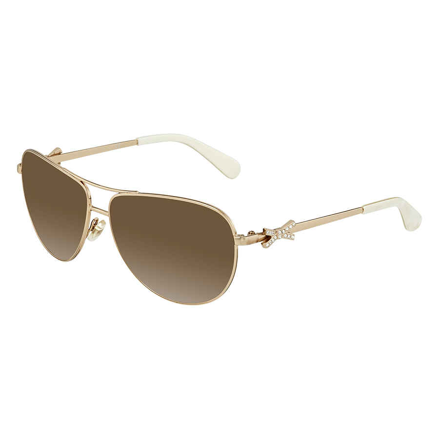 70afd4622d Kate Spade Circle Brown Gradient Aviator Ladies Sunglasses CIRCE2S 03YG 59