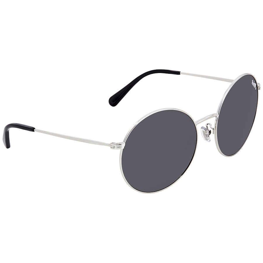e26f8240cd Coach Dark Grey Round Sunglasses HC7078 900187 56 725125989329