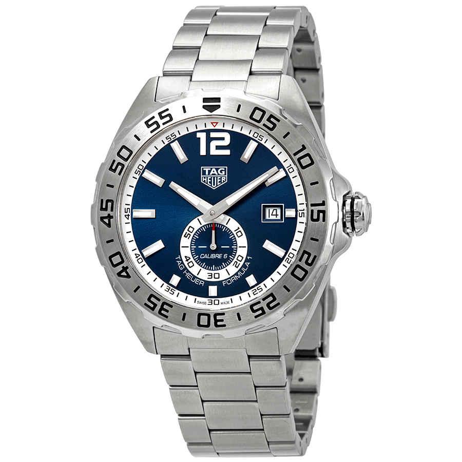 87709e2c60f Tag Heuer Formula 1 Automatic Blue Dial Men s Watch WAZ2014.BA0842 ...
