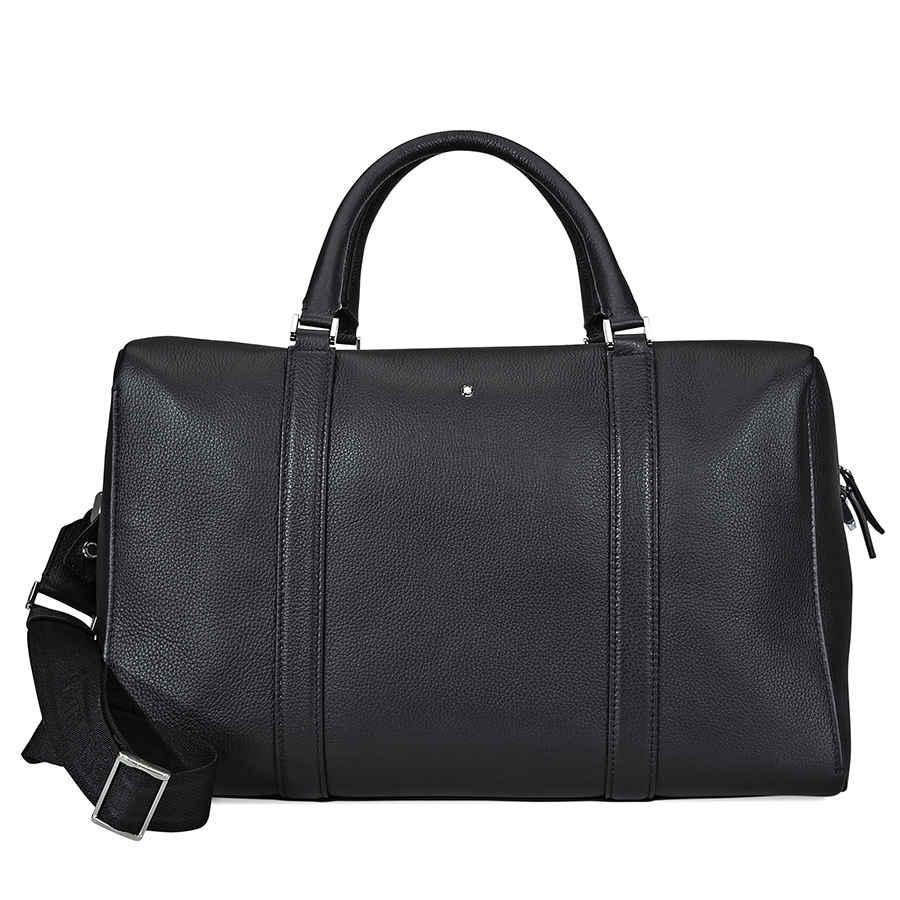 55871ccfef0d MontBlanc Meisterstuck Soft Grain Small Duffle Bag- Black 114716   eBay