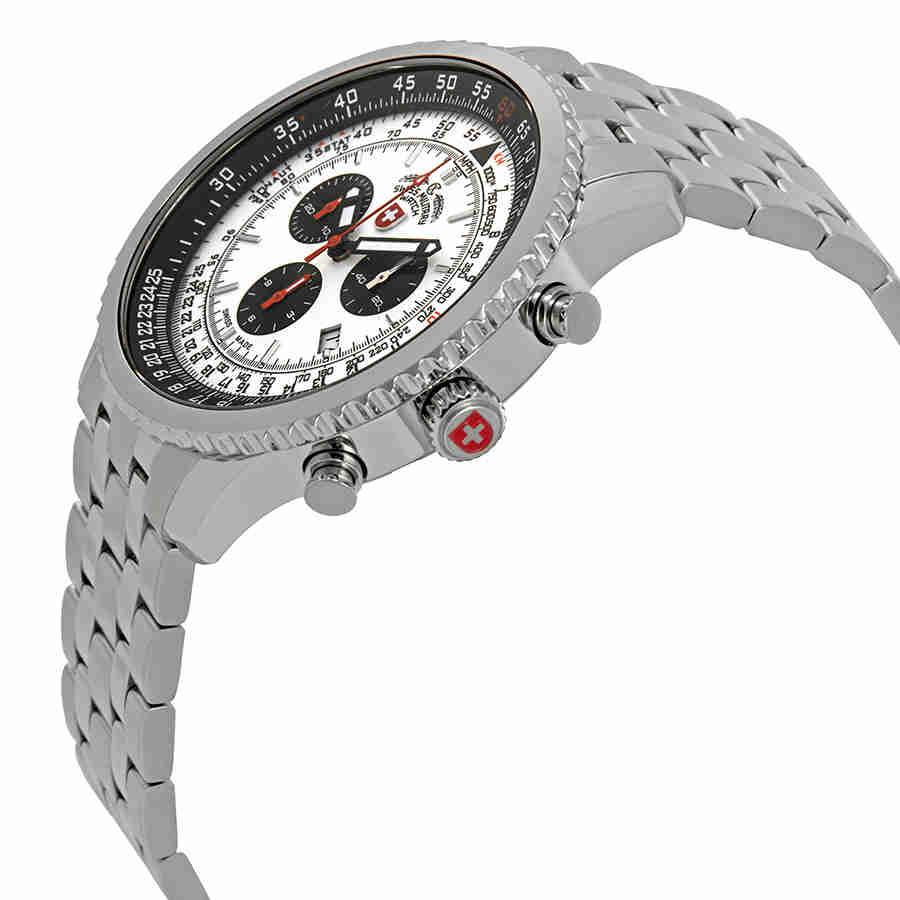 Swiss-Military-Thunderbolt-Men-039-s-Chronograph-Watch-Choose-color thumbnail 57