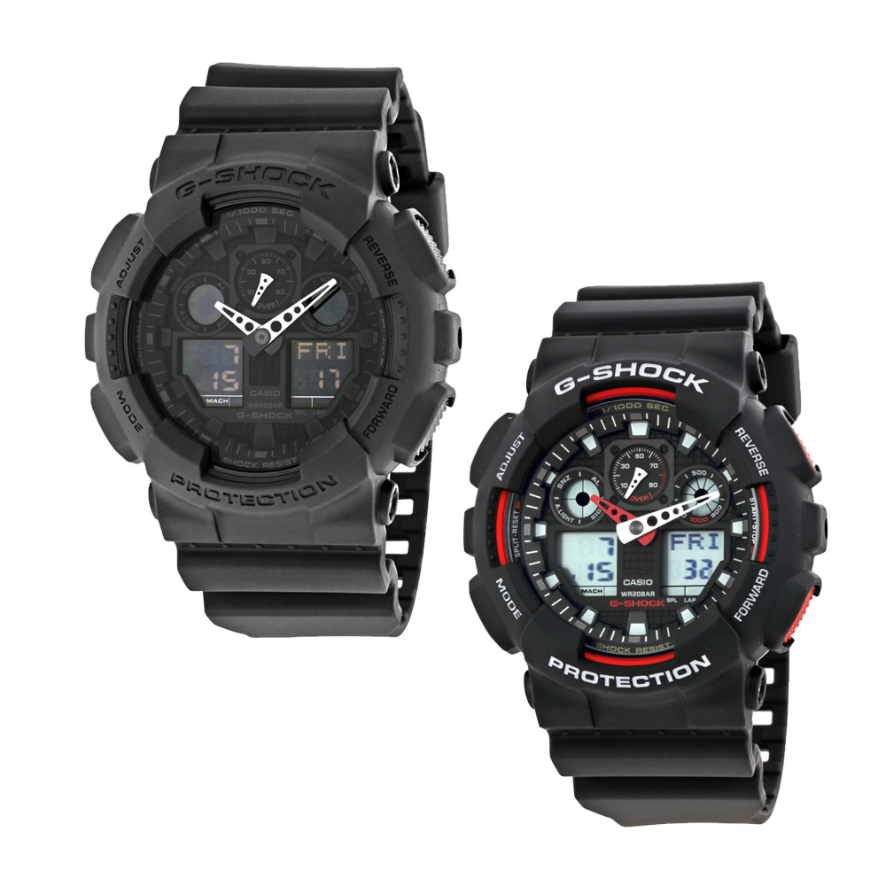 0e26638cbc4a Casio G-Shock Classic Series Analog-Digital Black Dial Men s Watch ...