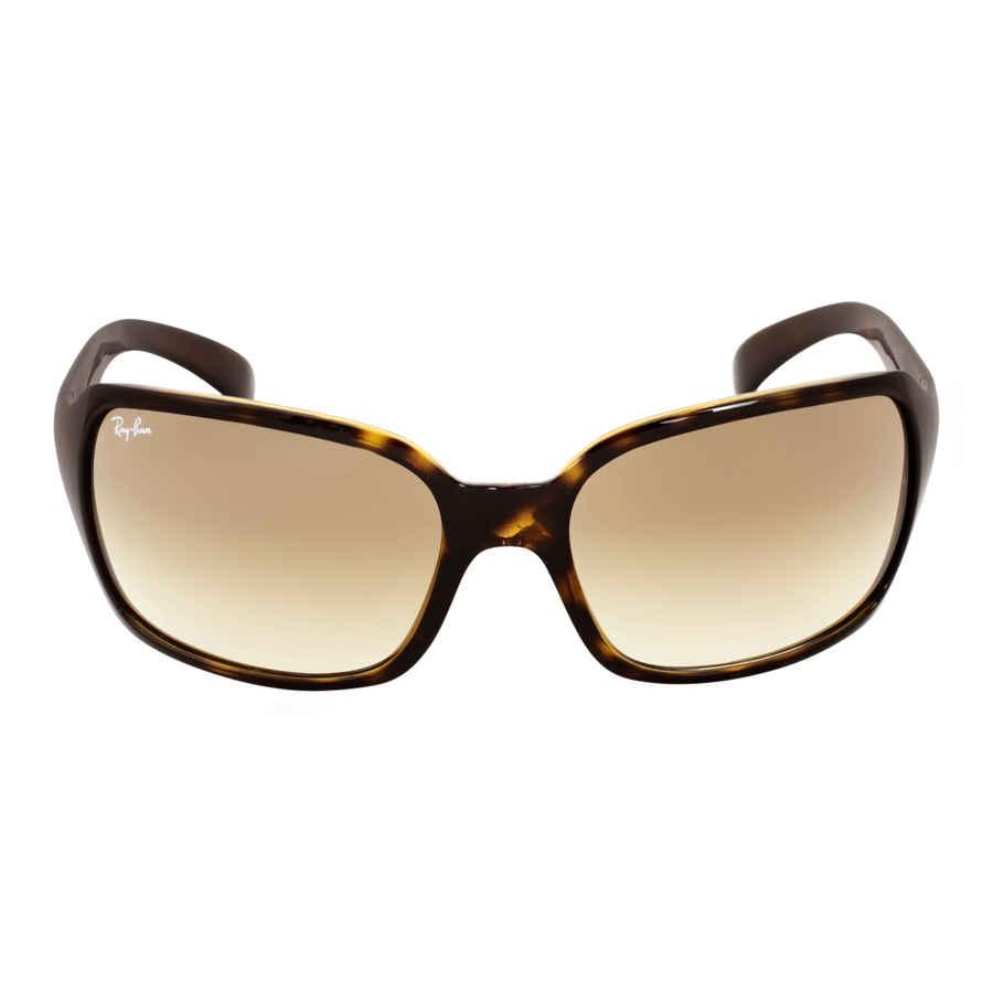 32ebf44ec3 Ray Ban Light Brown Gradient Ladies Sunglasses RB4068 710 51 60-17 ...