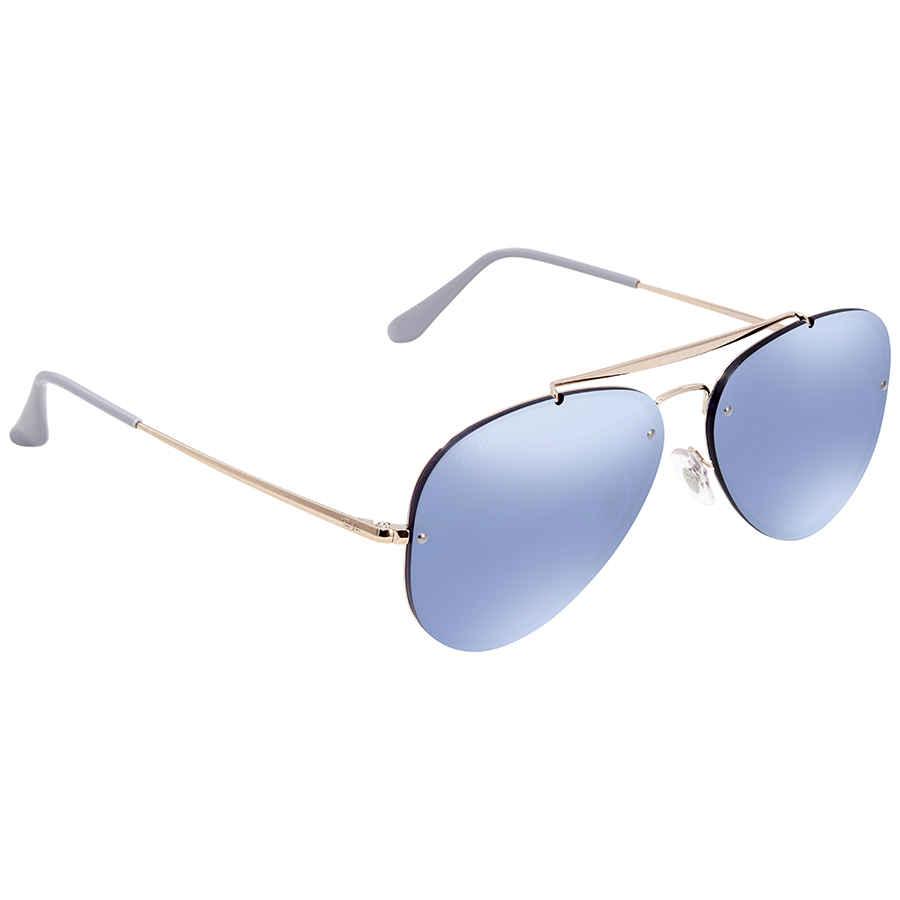 070c77d83c7 Ray Ban Blaze Violet Mirror Aviator Sunglasses RB3584N 90531U 58 ...