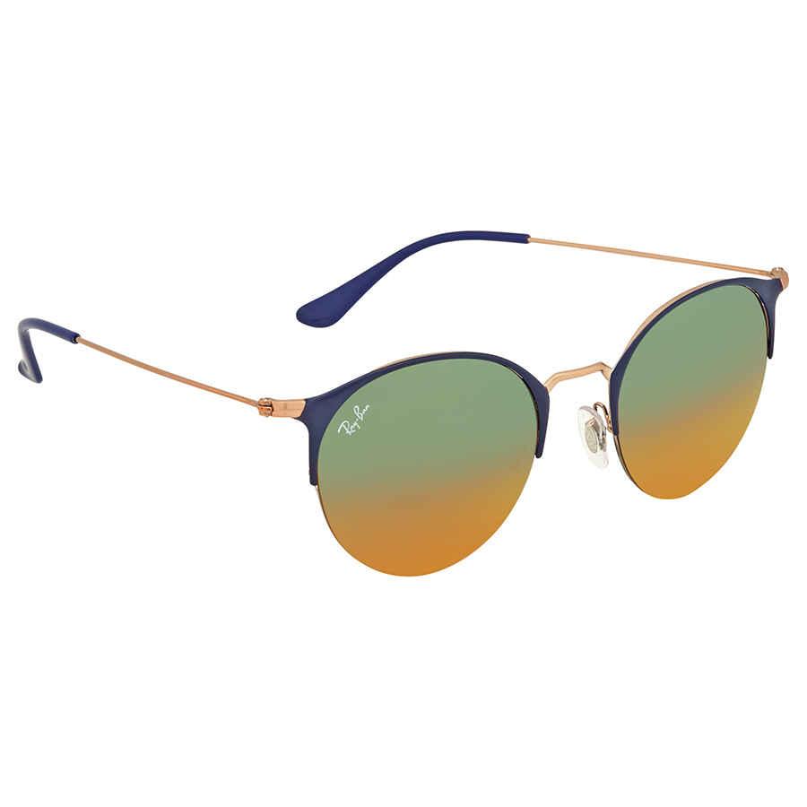 eb5ae36cd76 Ray Ban Orange Gradient Mirror Round Sunglasses RB3578 9036A8 50 ...
