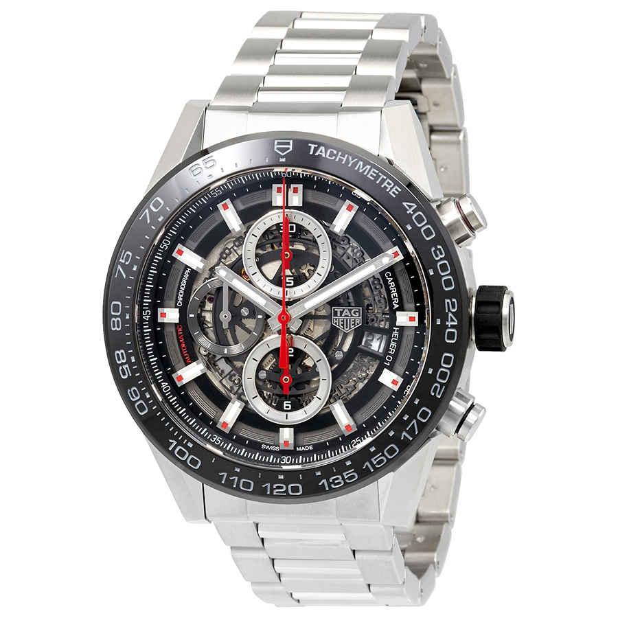 9c4226994b435 Tag Heuer Carrera Chronograph Automatic Men s Watch CAR2A1W.BA0703 ...