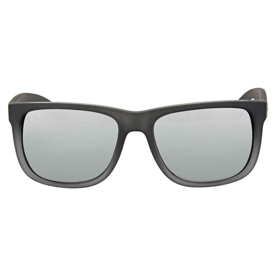 d01fabe38a Ray Ban Justin Classic Silver Gradient Mirror Sunglasses RB4165 852 88 55