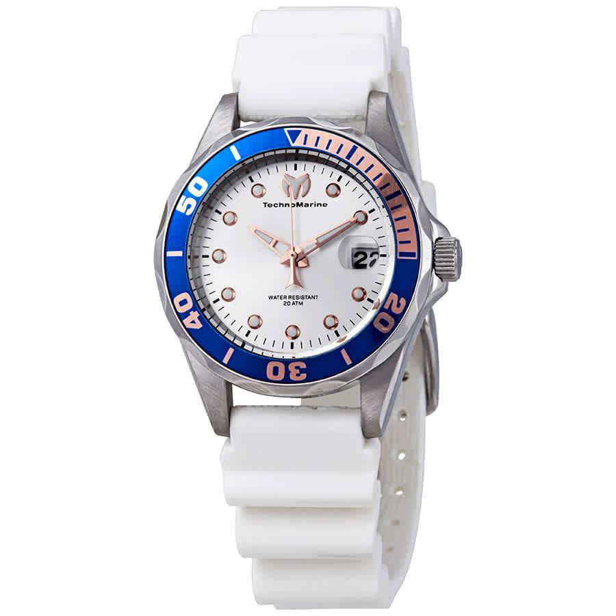 d9d4a3d0951 Technomarine Silver Dial Ladies Watch PM-014 886678967865