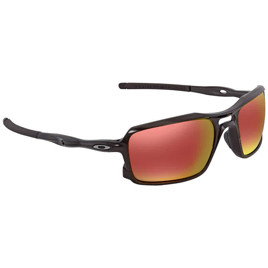 3326e56a8b6 Oakley Triggerman Ruby Iridium Rectangular Men s Sunglasses OO9266-926603-59