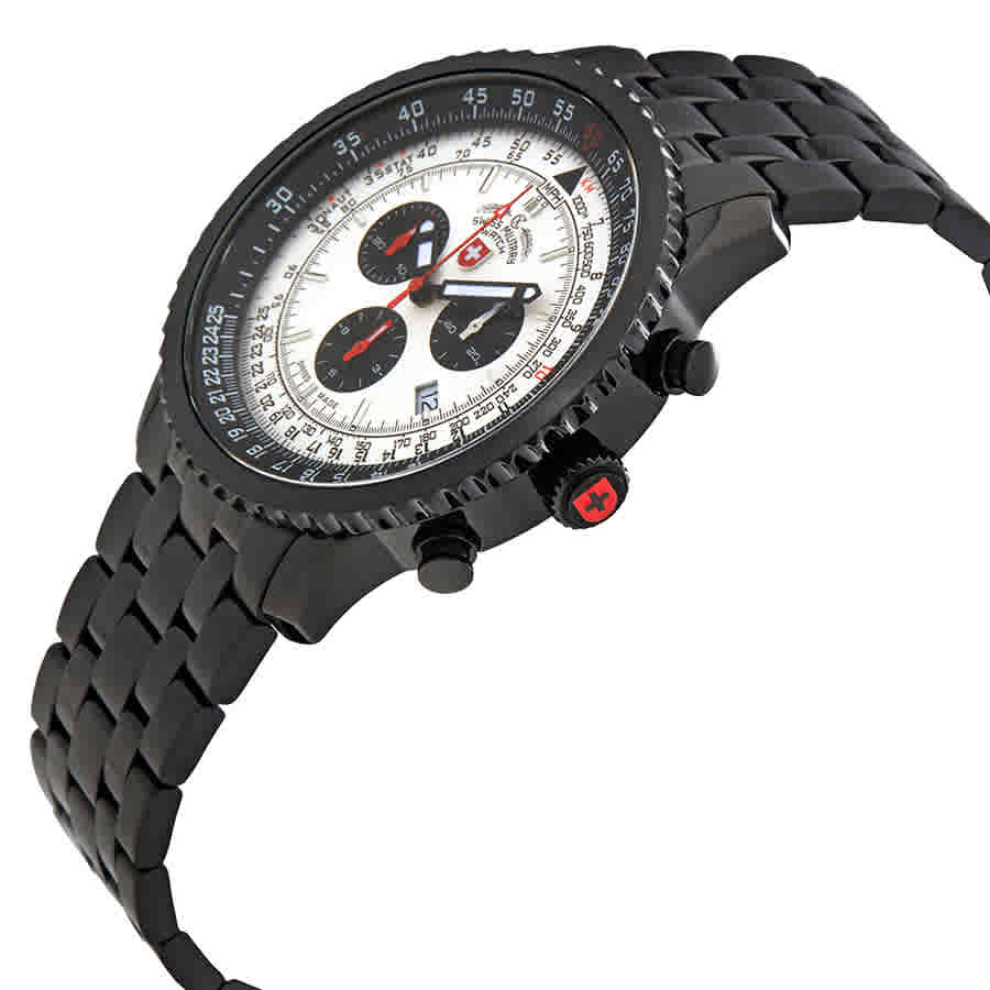 Swiss-Military-Thunderbolt-Men-039-s-Chronograph-Watch-Choose-color thumbnail 54