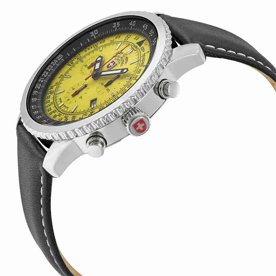 Swiss-Military-Thunderbolt-Men-039-s-Chronograph-Watch-Choose-color thumbnail 63