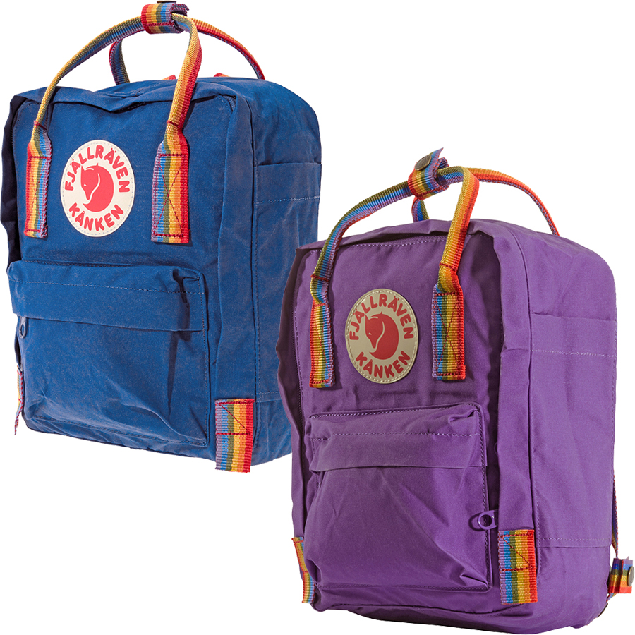 Details about Fjallraven Kanken Rainbow Mini Special Edition Backpack -  Choose color