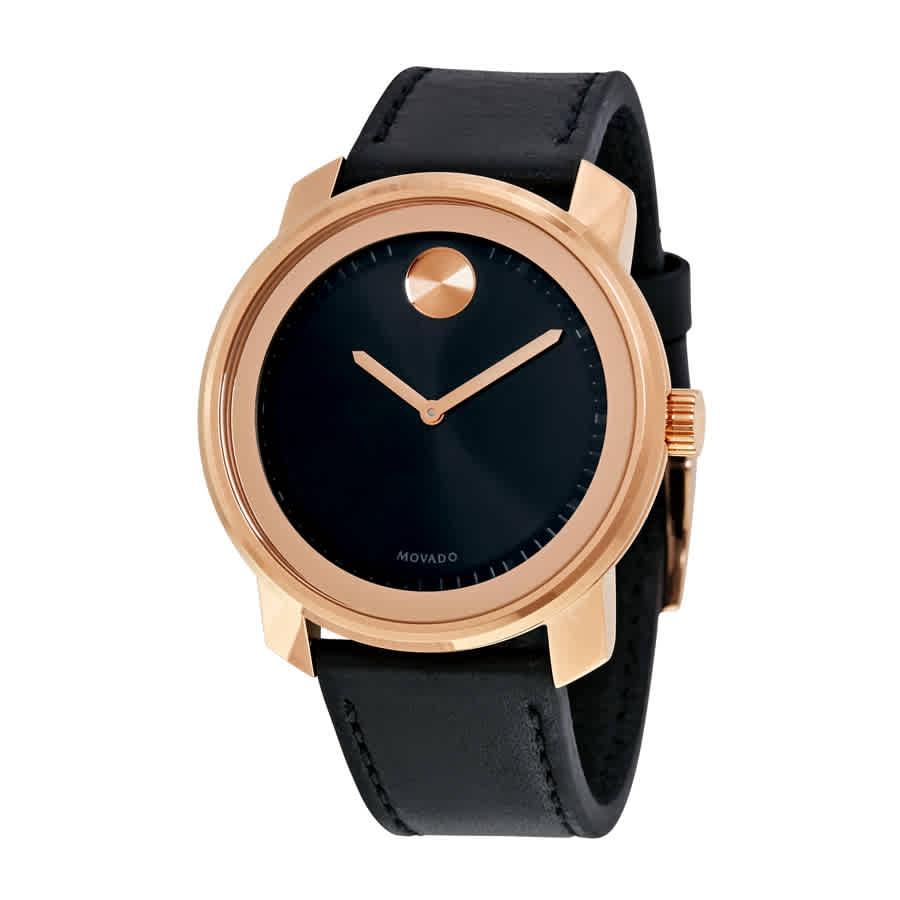 94cf6e5f2 Movado Bold Black Dial Men's Watch 3600376 885997196857 | eBay