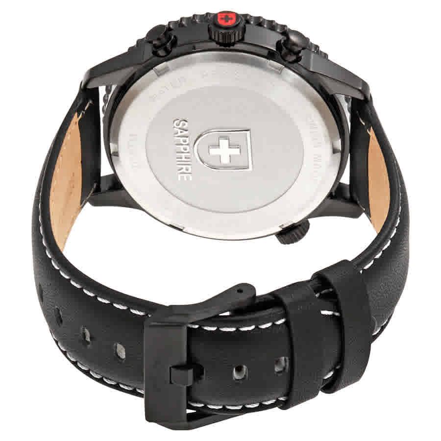 Swiss-Military-Thunderbolt-Men-039-s-Chronograph-Watch-Choose-color thumbnail 31