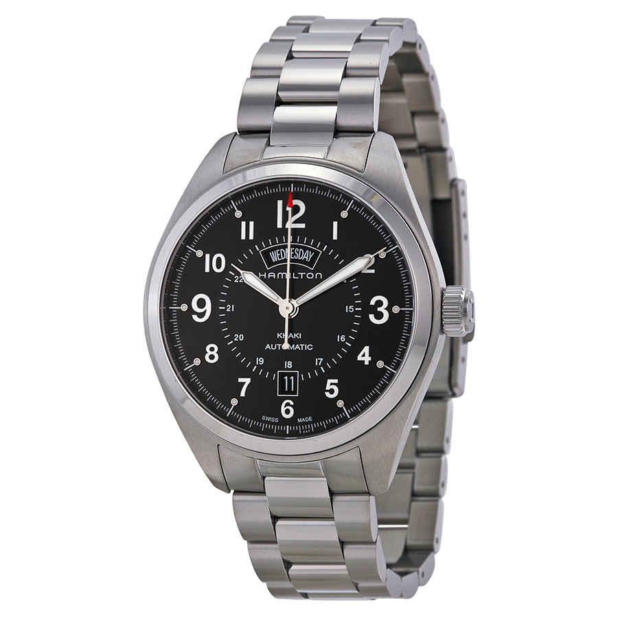 e96031745 Hamilton Khaki Field Automatic Black Dial Men's Watch H70505133 | eBay