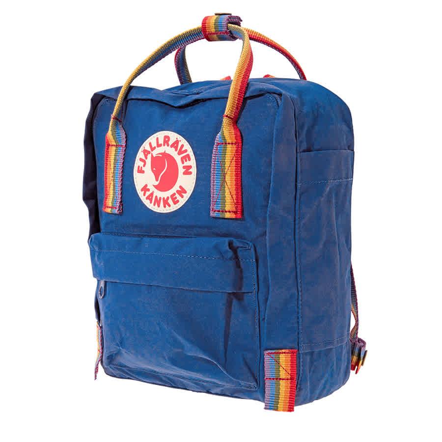 1b075fe78cd Fjallraven Kanken Rainbow Mini Special Edition Backpack- Deep Blue-Rainbow  Pattern