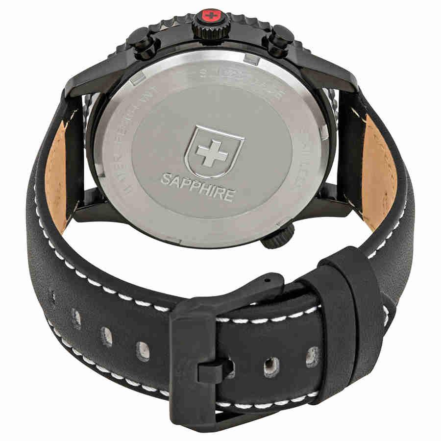Swiss-Military-Thunderbolt-Men-039-s-Chronograph-Watch-Choose-color thumbnail 19