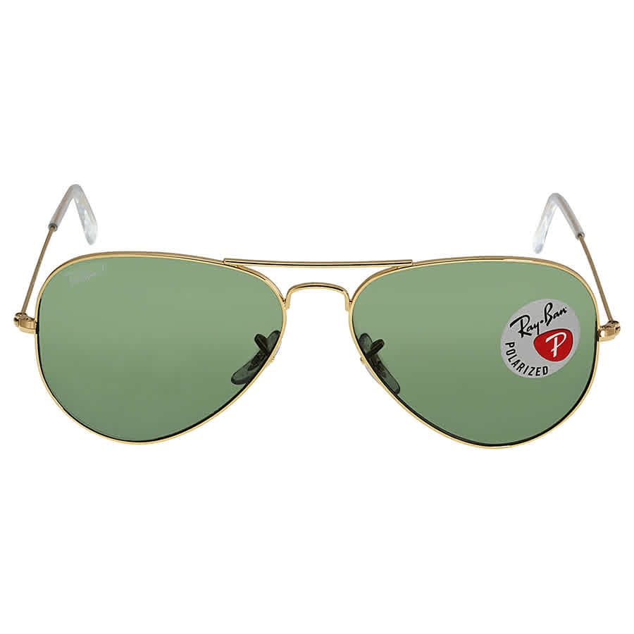 77906c837634f Ray Ban Aviator Green Polarized Lens 58mm Sunglasses RB3025-001 58 ...