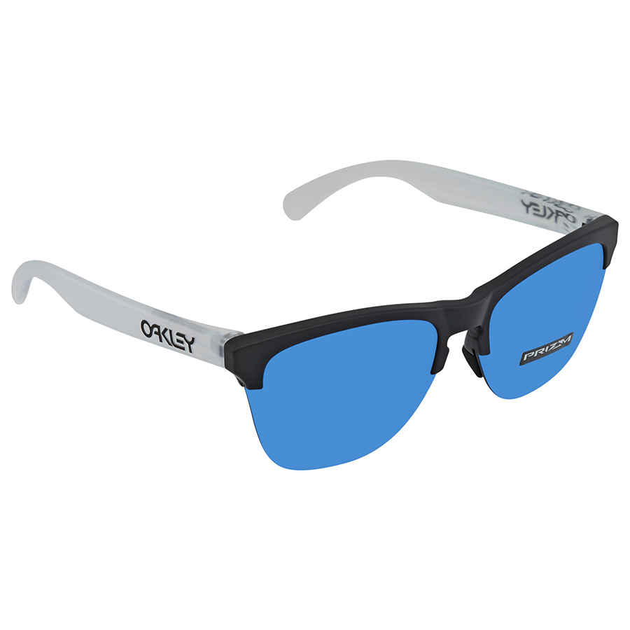 d03dc6fa20 Oakley Frogskin Lite Prizm Sapphire Round Men s Sunglasses OO9374 937402 63