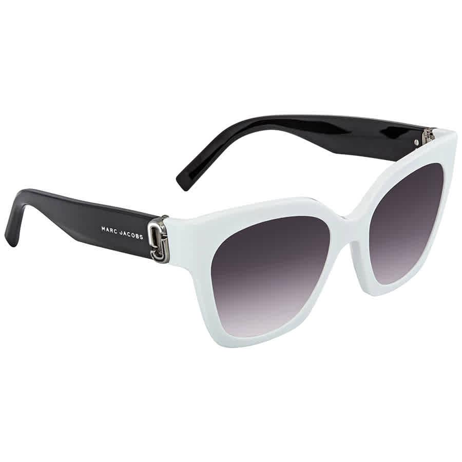 64e07559b5 Details about Marc Jacobs Dark Gray Gradient Square Ladies Sunglasses MARC  182 S 0CCP 9O 52