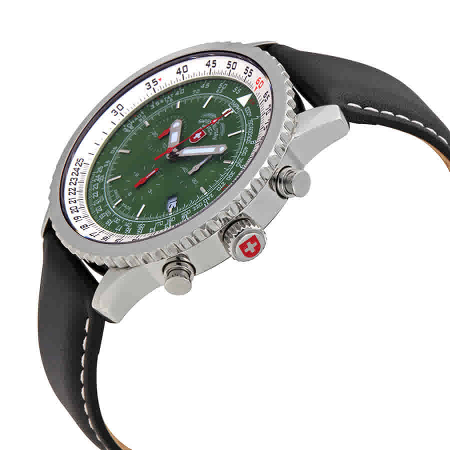 Swiss-Military-Thunderbolt-Men-039-s-Chronograph-Watch-Choose-color thumbnail 27