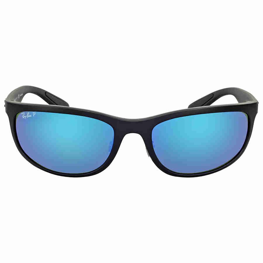 36f5adb59df Ray Ban Polarized Blue Mirror Sunglasses